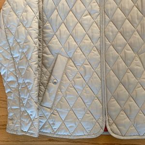 Lands' End Jackets & Coats - Lands End Tan Quilted Jacket, Sz S